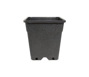 Fertraso Anzuchttopf Viereckig 7 Liter 20x20 cm Schwarz
