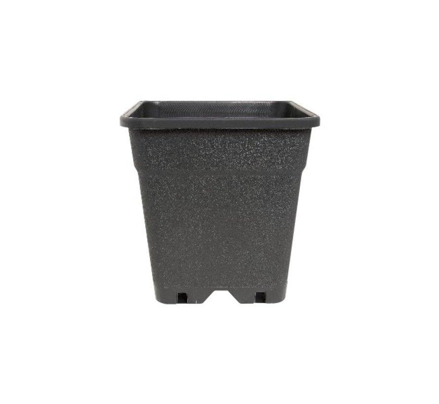 Fertraso Kweekpot Vierkant 5 Liter 17x17 cm Zwart