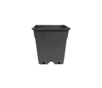 Fertraso Anzuchttopf Viereckig 3.5 Liter 15x15 cm Schwarz