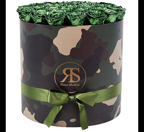 Rosuz Flowerbox Longlife Rihanna Metallic Groen