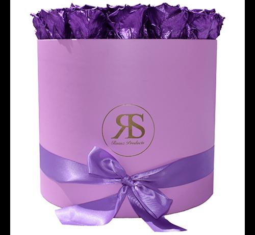 Rosuz Flowerbox Longlife Aaliyah Metallic Paars
