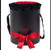 Rosuz Flowerbox Longlife Aisha Schwarz & Rot