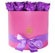 Rosuz Flowerbox Longlife Ciara Metallic Paars
