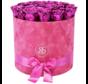 Flowerbox Longlife Suzy Metallisches Rosa