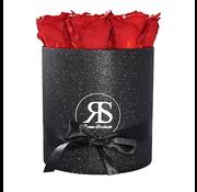 Rosuz Flowerbox Longlife Gigi Red Glitter