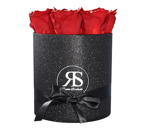 Rosuz Flowerbox Longlife Gigi Rot Funkeln