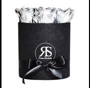 Rosuz Flowerbox Longlife Gigi Metallisches Silber