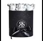 Flowerbox Longlife Gigi Metallisches Silber