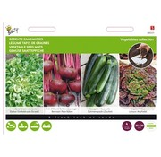 Buzzy Vegetable Seed Mats 4 Pieces