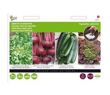 Buzzy Gemüse Samenmatten 4 Stück