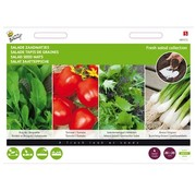 Buzzy Salad Seed Mats 4 Pieces