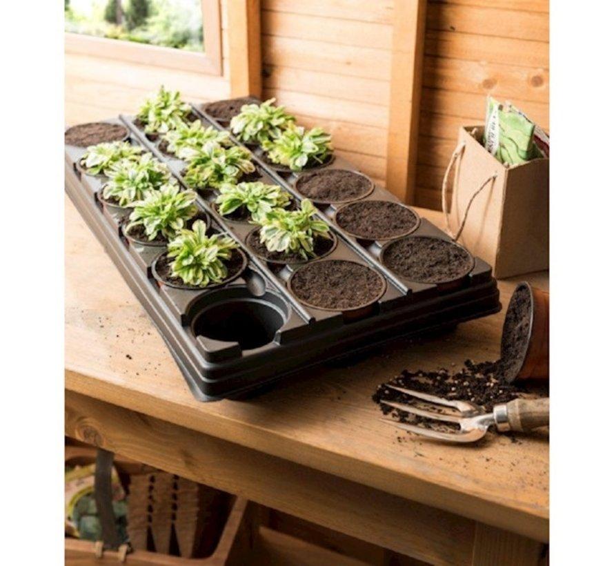Grow Anzuchtschale 18 Fächer 56x31 cm