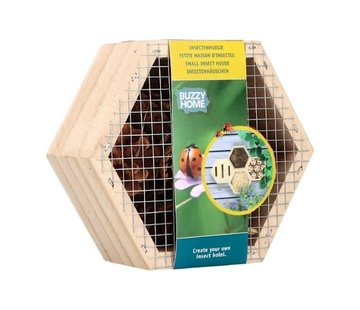 Buzzy Insectenhuis Zeshoekig voor Lieveheersbeestjes