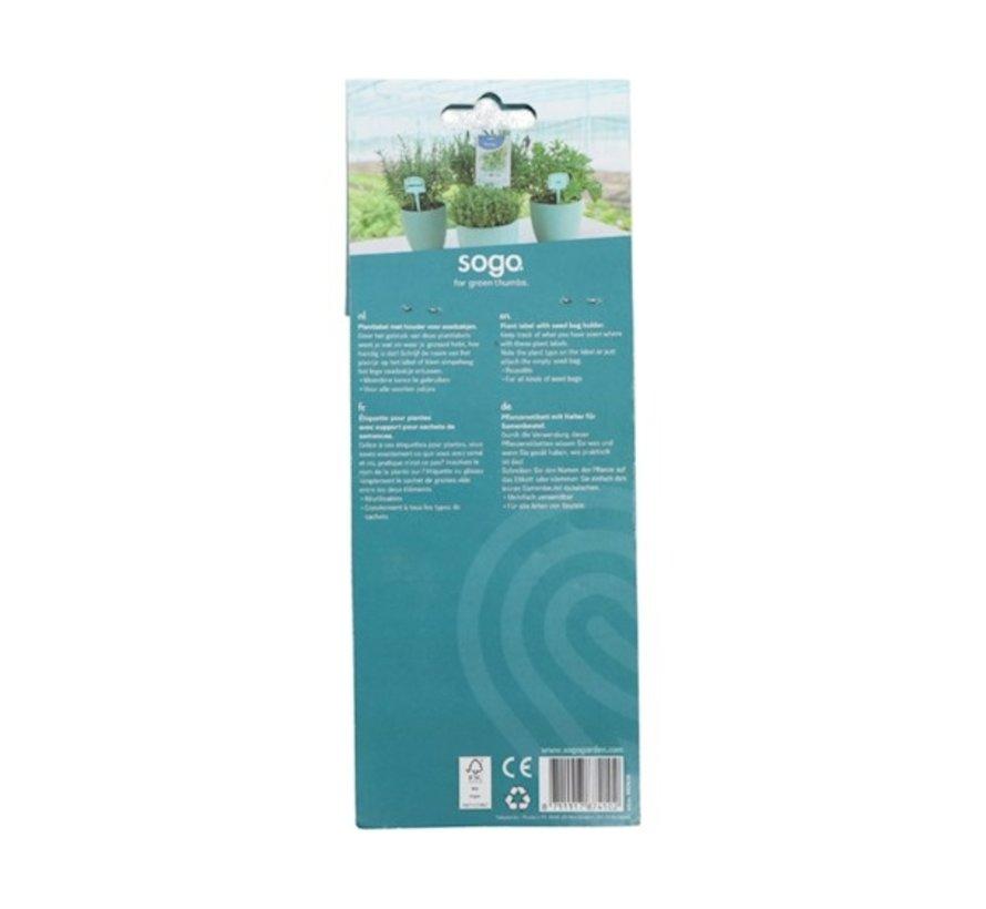 Nature Plantenlabels 12.5cm 10 stuks