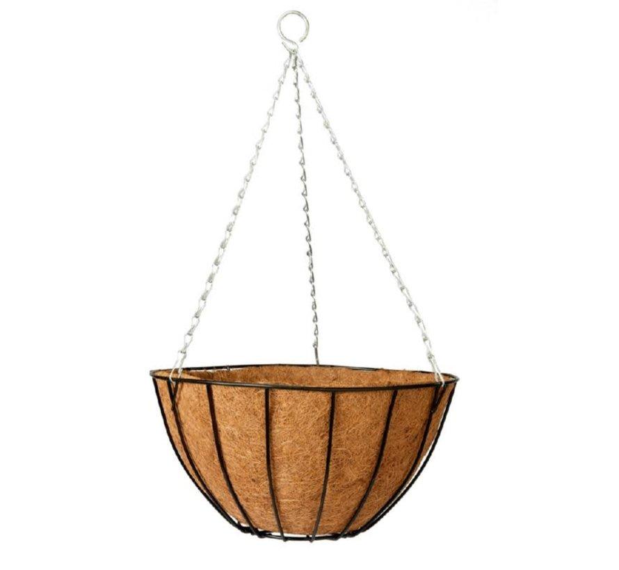 Gardman Classic Hanging Basket with Coir Mat 35cm
