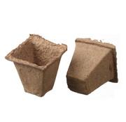 Nature Biodegradable Peat Pots Square 16 pieces