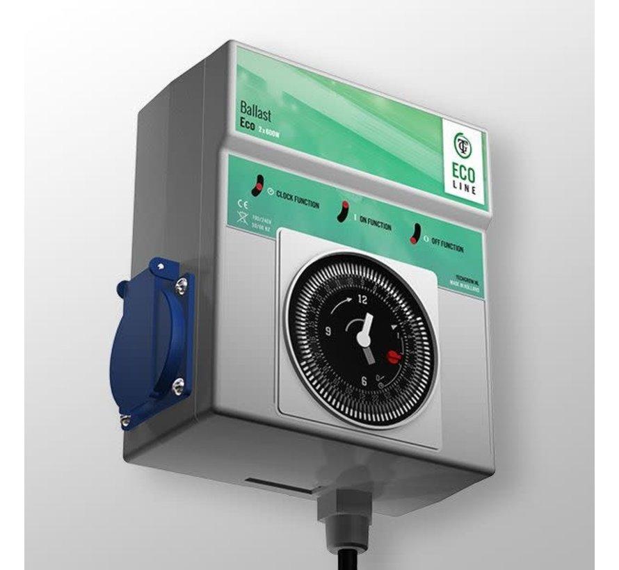 Techgrow Ballast - Eco 2x600W