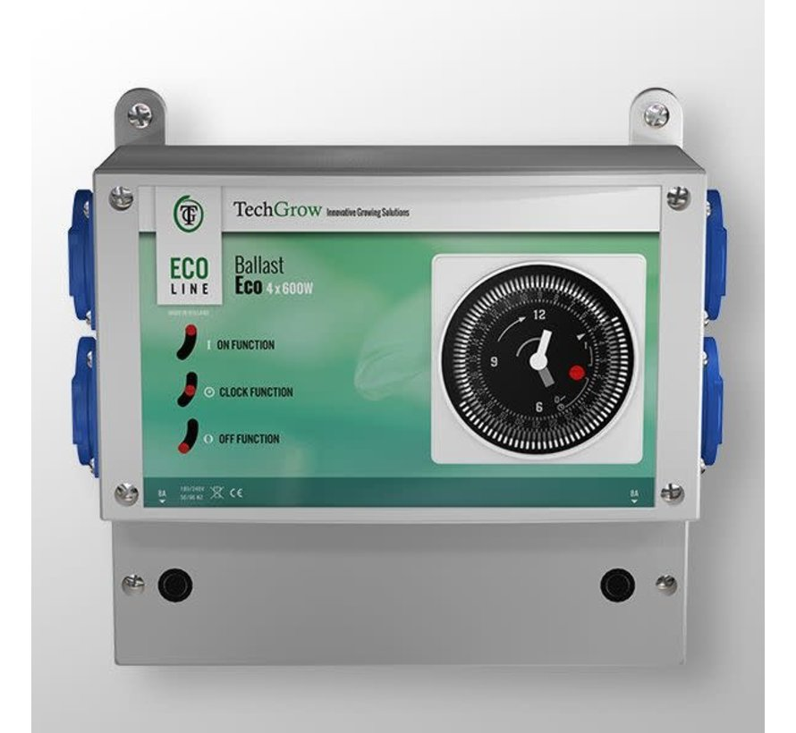 Techgrow Ballast - Eco 4x600W