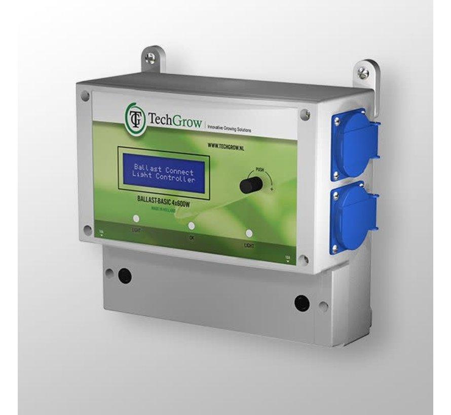 Techgrow Ballast - Basic 4x600W