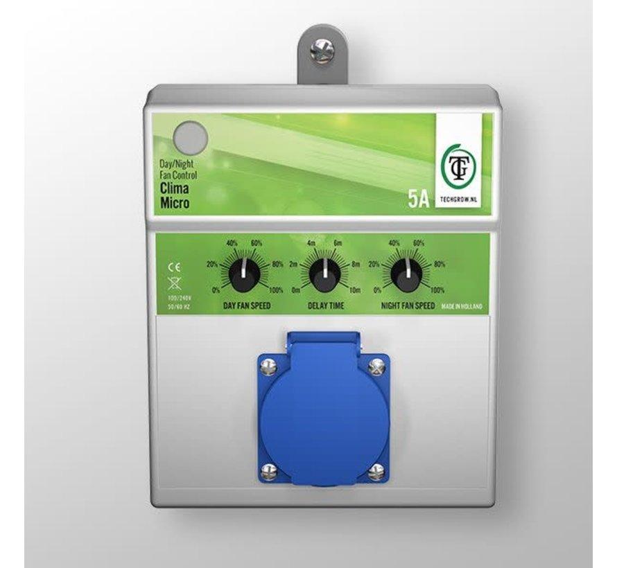 Techgrow Clima Control - Micro Plus 5A Tag/Nacht-Lüftersteuerung