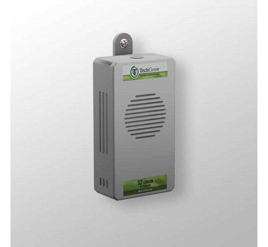 Techgrow CO2 Sensor - S2 0-2.000 PPM Auto Calibratie