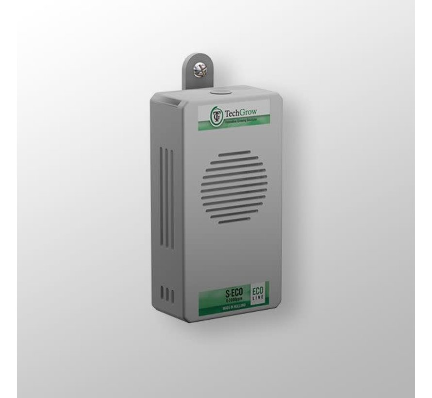 Techgrow CO2 Sensor - S Eco 0-2.000 PPM