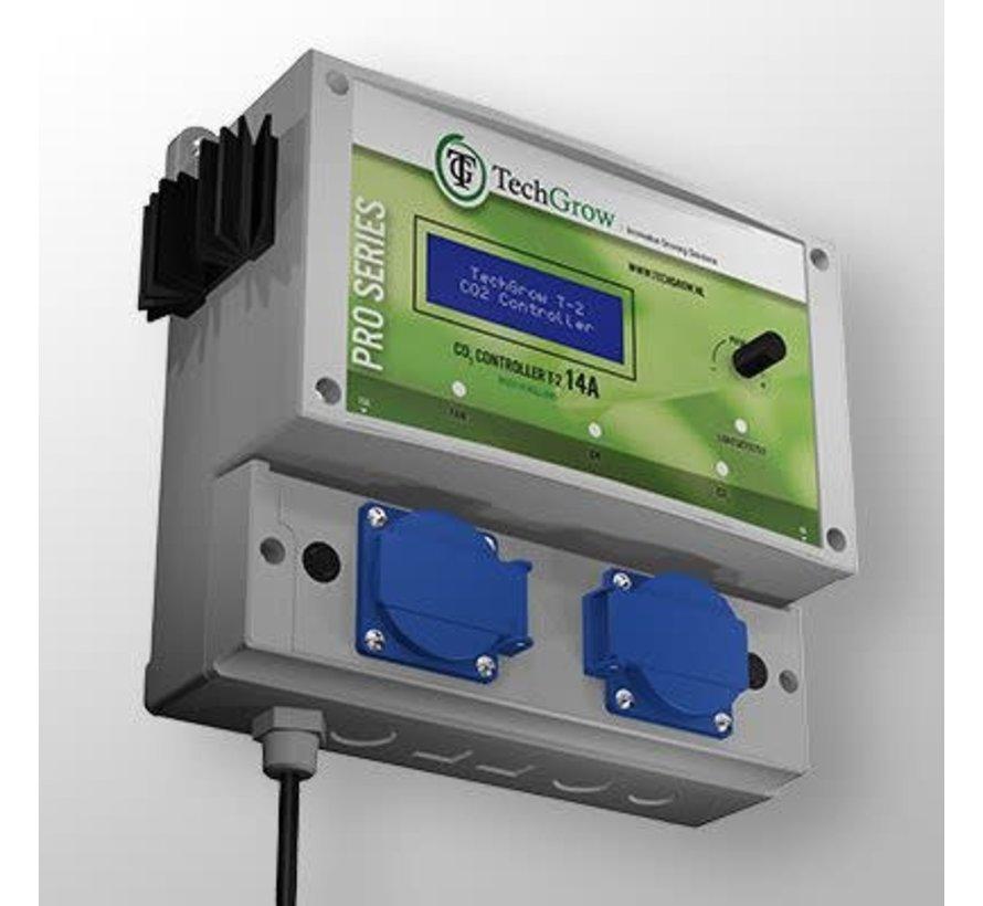 Techgrow CO2 Controller - T2 Pro 7A