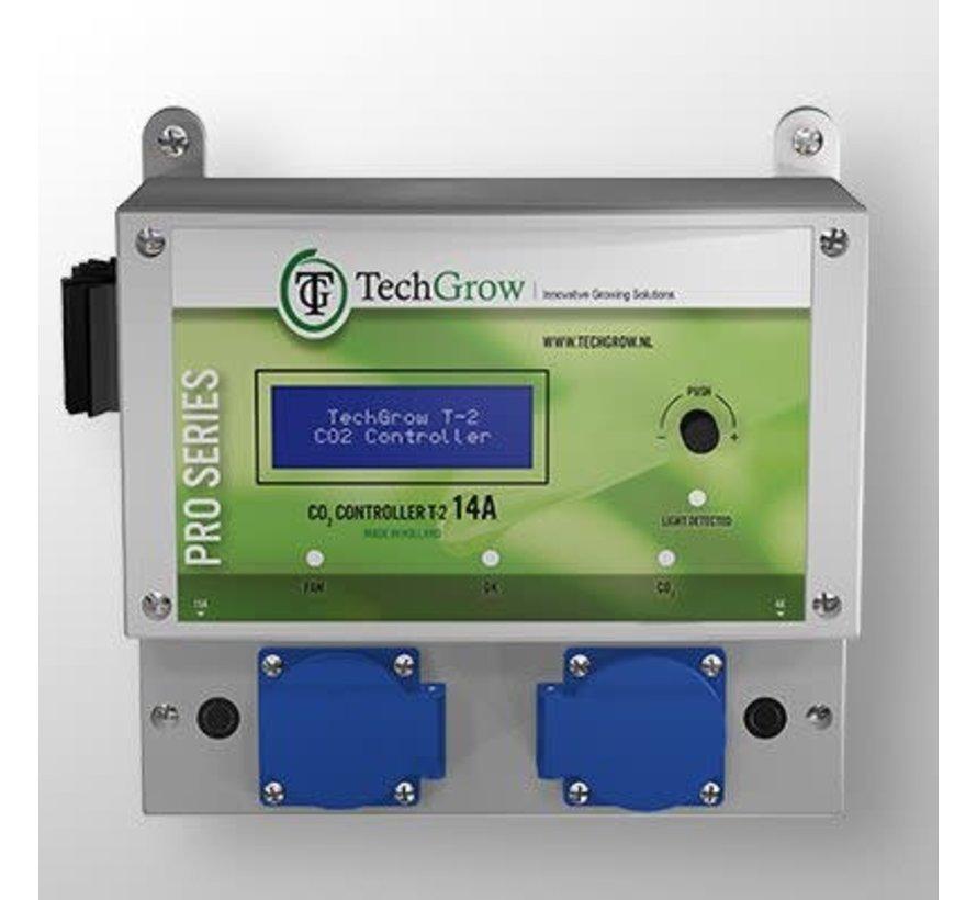 Techgrow CO2 Steuerung - T2 Pro 7A