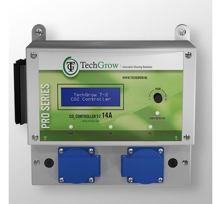 Techgrow CO2 Controller - T2 Pro 14A