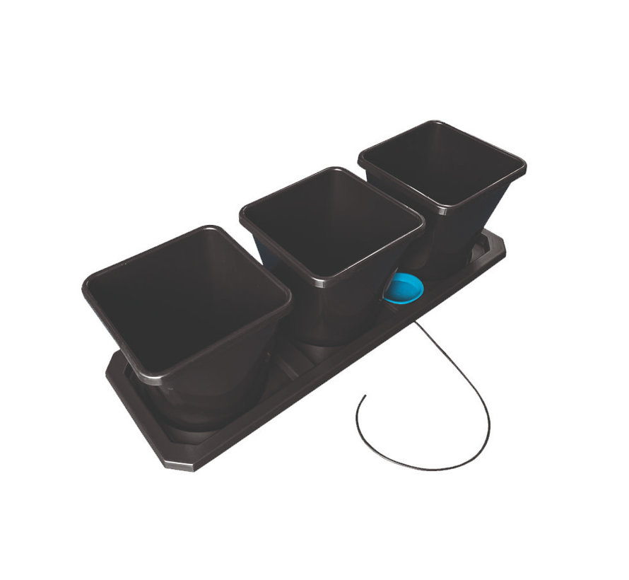 AutoPot Auto XL 3 Potten 25 Liter Tray Water Systeem 115x39 cm