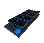 AutoPot Auto 8 Pots 8.5 Liter Tray System 120x53 cm