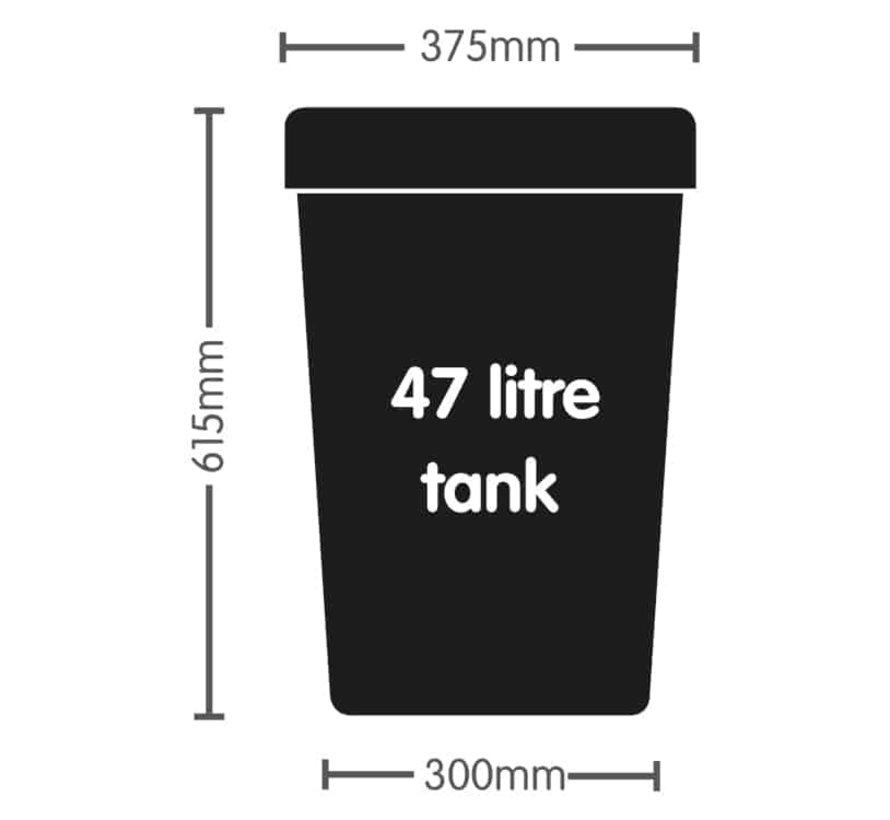 AutoPot 1Pot XL 4 Smartpot Starter Set incl. Tank