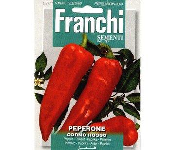 Franchi Paprika Peperone Corno Rosso