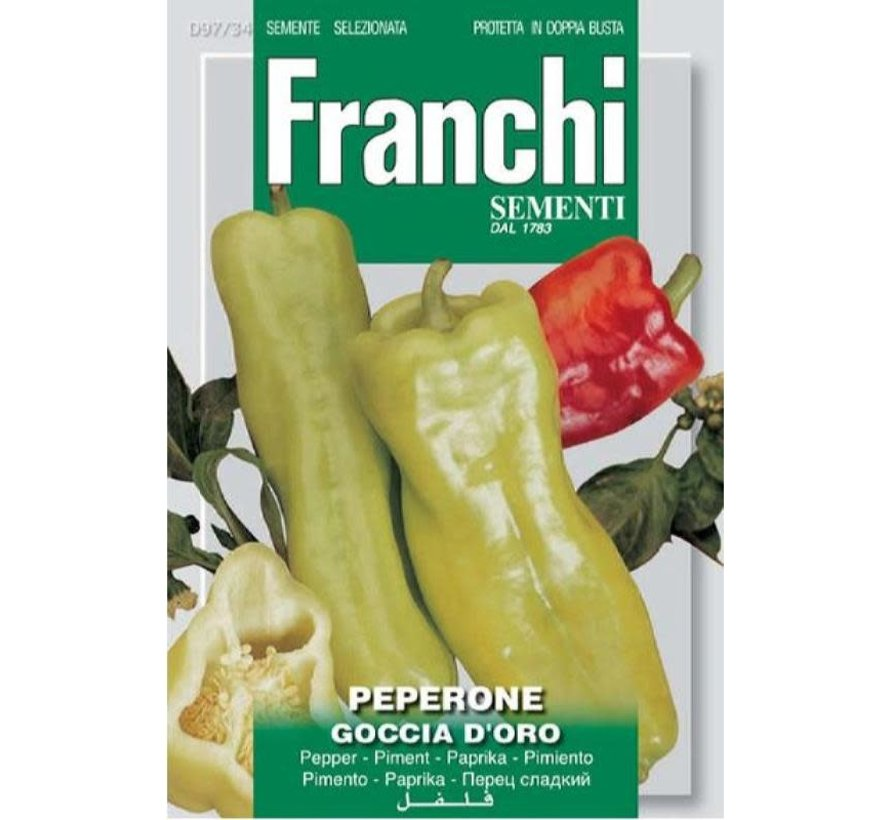 Franchi Paprika Peperone Goccia D'Oro