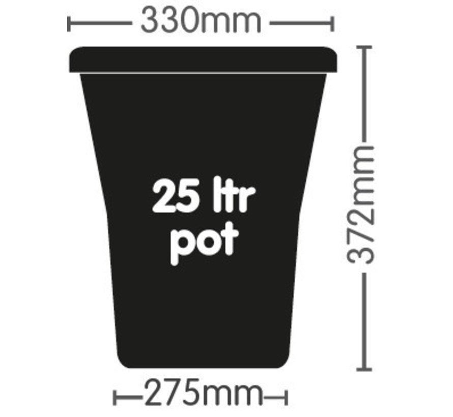 AutoPot Auto XL 9 Potten 25 Liter Tray Water Systeem 115x106 cm