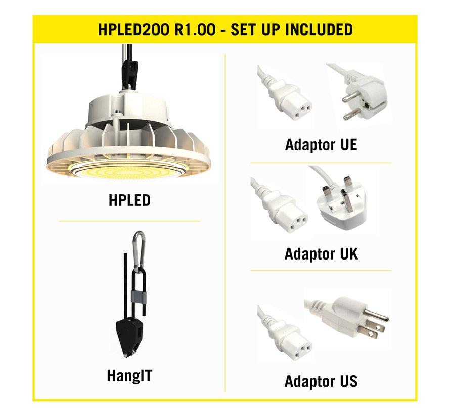 Secret Jardin HPLED 200 Watt Full Spectrum Kweeklamp