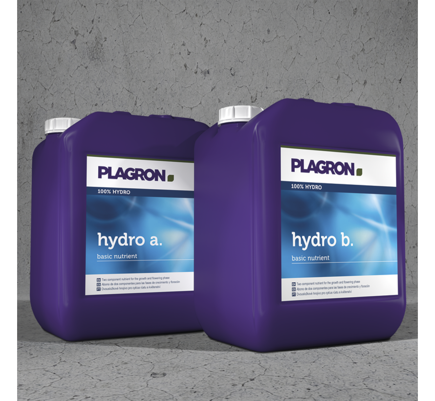 Plagron Hydro A&B Basisdünger 5 Liter
