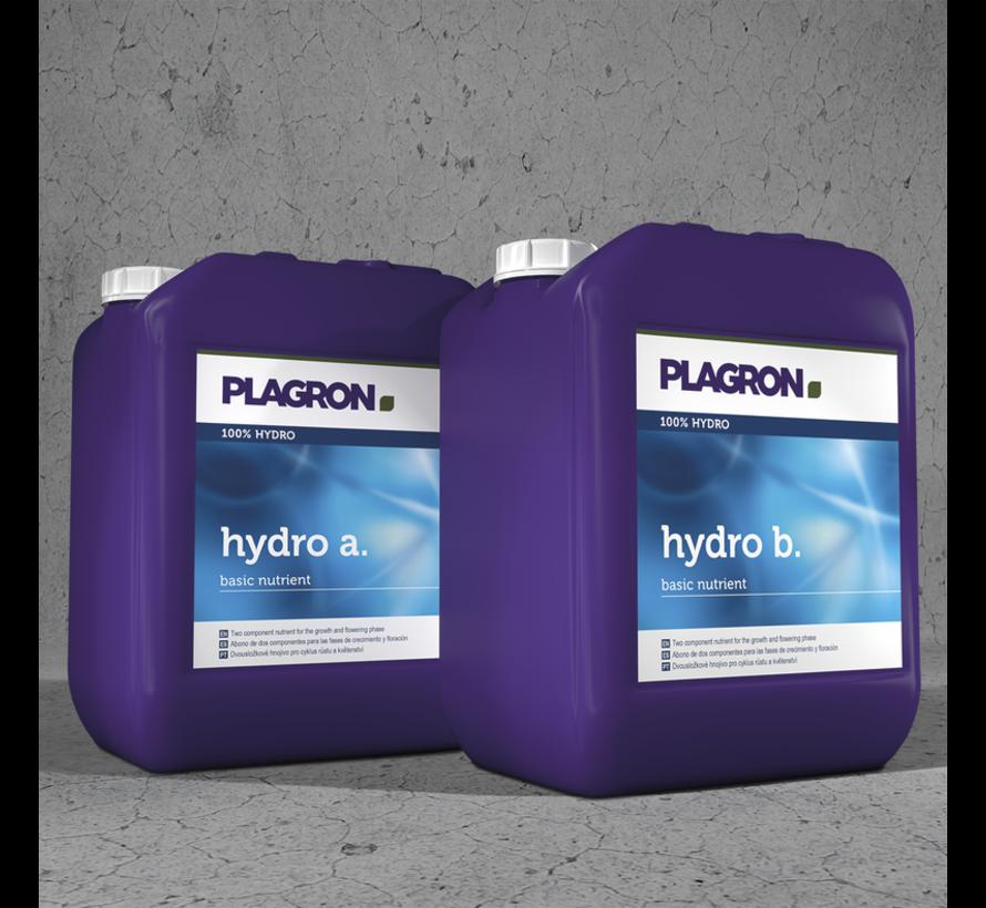 Plagron Hydro A&B Basisvoeding 5 Liter