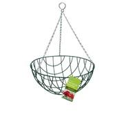 Gardman Hanging Basket Green 35 cm