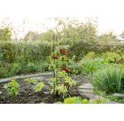 Nature Triángulo de soporte para tomates 3 postes 150 cm 12 postes transversales