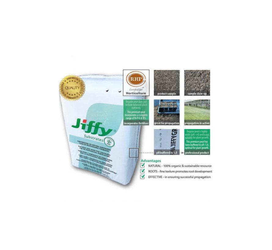 Jiffy RHP Lightmix Substraat Biologisch 70 Liter