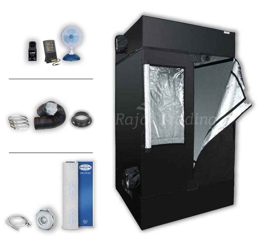 Kweektent Complete Set Zonder Lamp 120x120