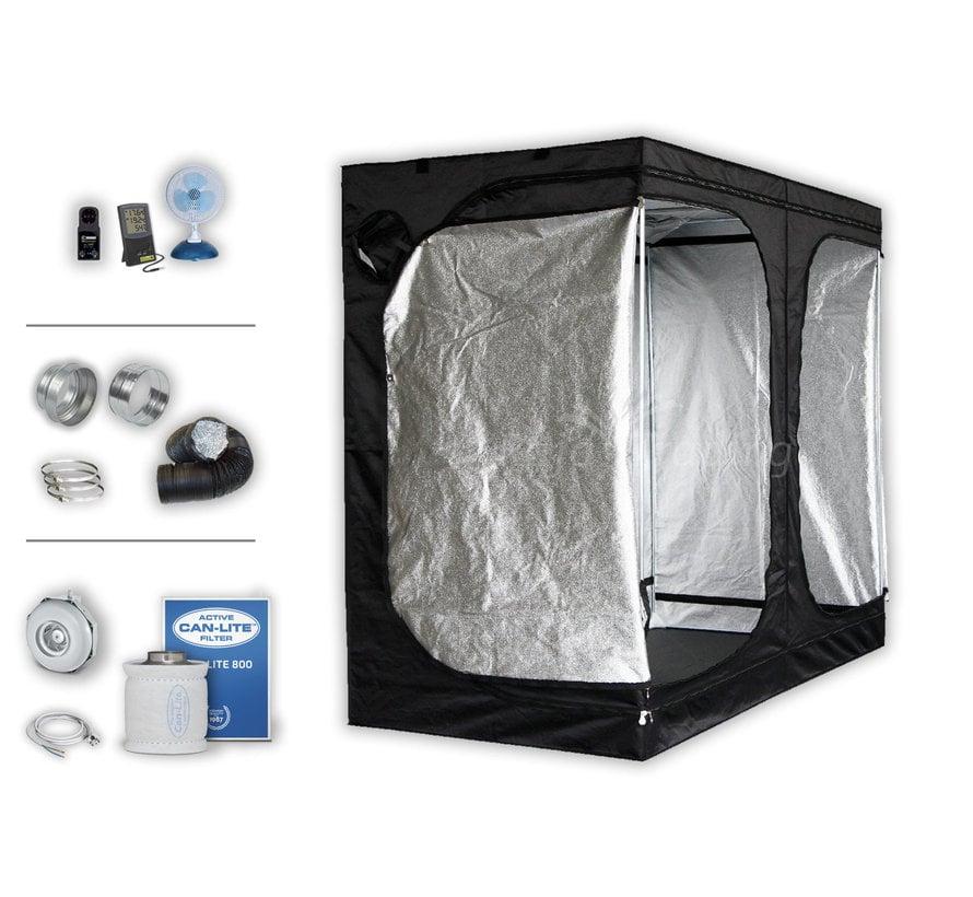 Kweektent Complete Set Zonder Lamp 240x120