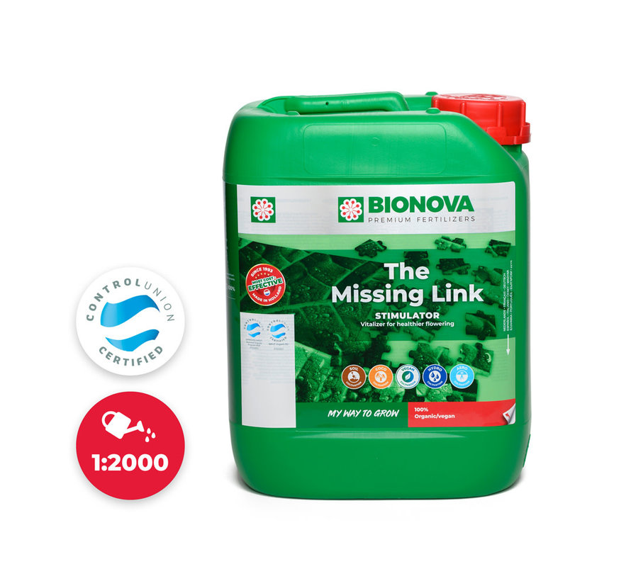Bio Nova The Missing Link 5 Liter Spoorelementen