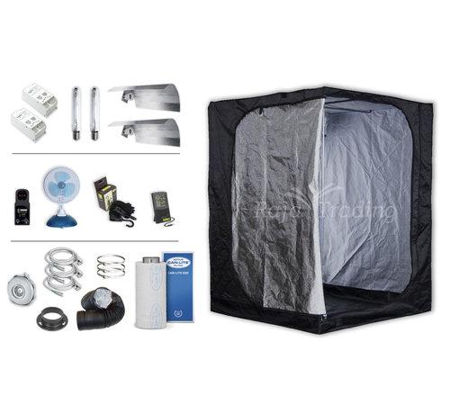 Mammoth Classic 150+ Kweektent Compleet 2x400 Watt HPS Set 150x150x200