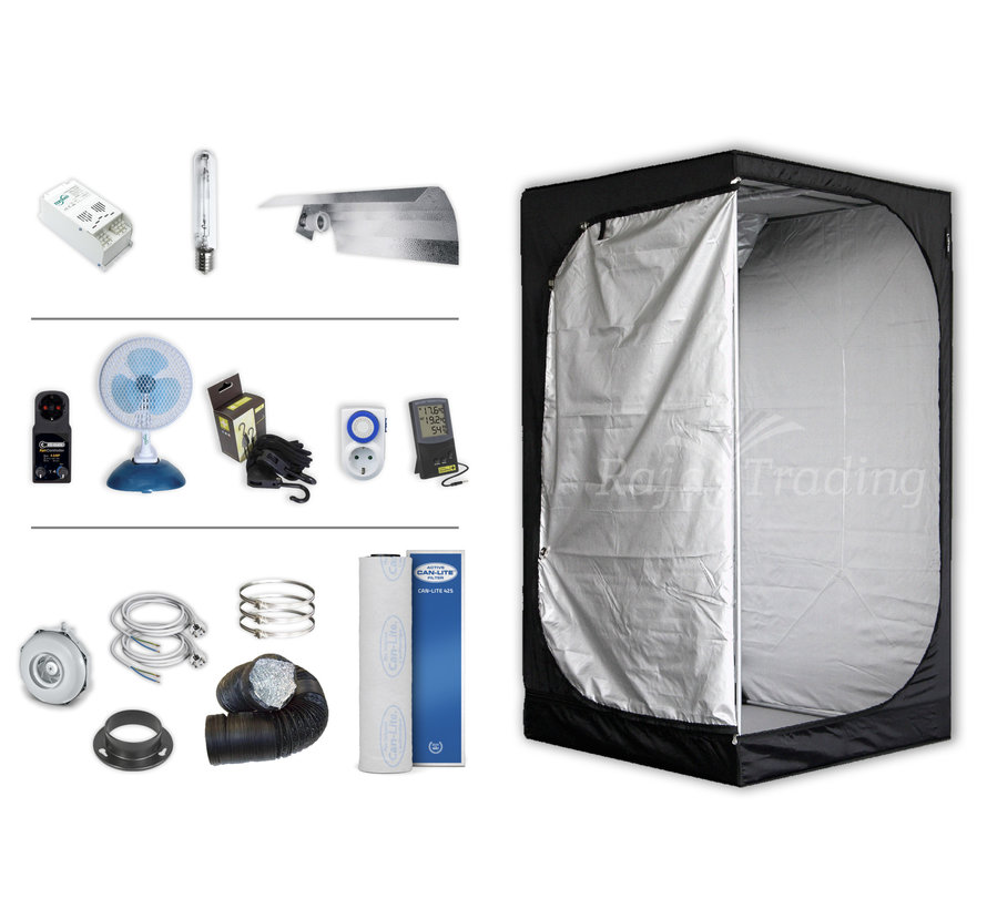 Mammoth Lite 100+ Kweektent Compleet 600W HPS Set 100x100x180