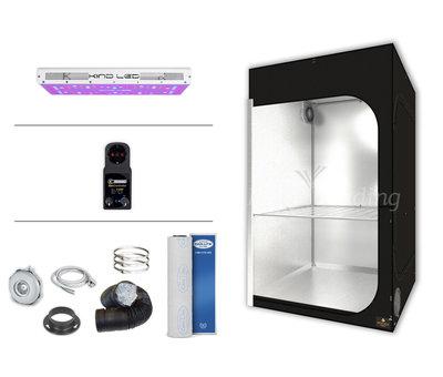 Secret Jardin DS120 Kweektent Compleet Kind Led XL600 320W Set 120x120x200