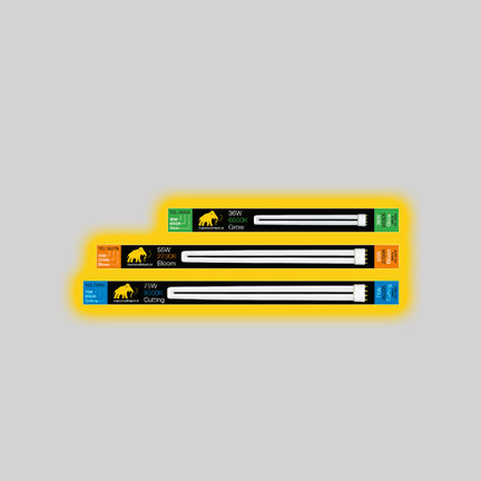 Complete neon grow lights kits