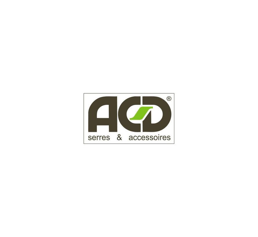 ACD Aluminium / RAL Kleur Urban Schap 71.5 x 32 cm