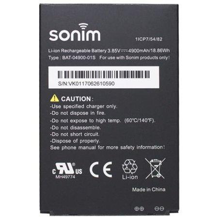Sonim Sonim Batterij 4900 mAh - voor XP8
